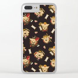 Komainu X Journey to the West Clear iPhone Case