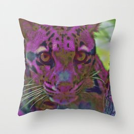 Stalking Prey Throw Pillow
