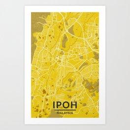 Beauty of Ipoh Art Print