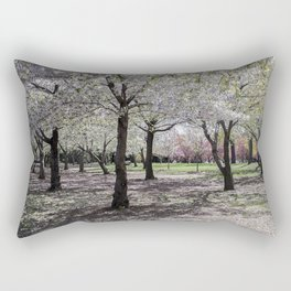 Spring at Flushing Park, Queens Rectangular Pillow