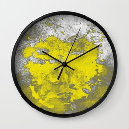 Yellow Burumph Wall Clock