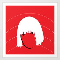 sia Art Prints featuring Girls Like Sia  by Smudgey Paw