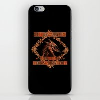 kitsune iPhone & iPod Skins featuring Kitsune by Carlo Spaziani