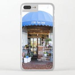 Sweet Little Florist Shop Clear iPhone Case