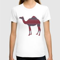 camel T-shirts featuring Camel by Ain Clothing
