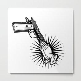 GUn CONtrol Metal Print