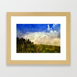Cloudland Framed Art Print