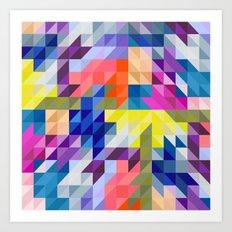 Background colour Art Print