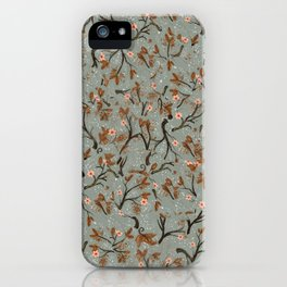 Snow Floral iPhone Case