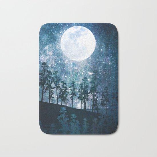 A Forest of Stars Bath Mat