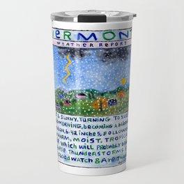 Vermont Weather Report Travel Mug