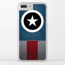 CAPTAIN HERO Clear iPhone Case