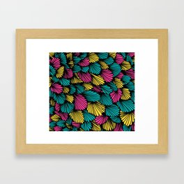 Happy abstract: Seaworld Nr:04 Framed Art Print