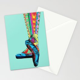 Happy Ballet II Stationery Cards