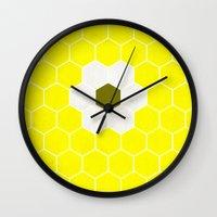 minion Wall Clocks featuring Minion by Alexandre Reis