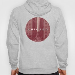 Red Chicago Hoody