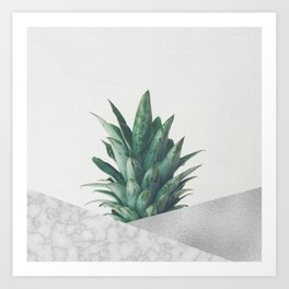 Pineapple Dip VIII Art Print