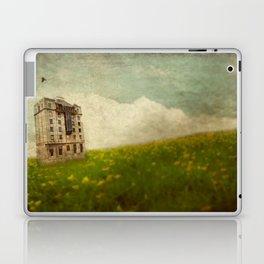 Building in a field Laptop & iPad Skin