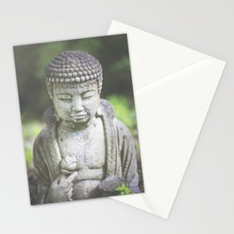 Peaceful oasis Stationery Cards