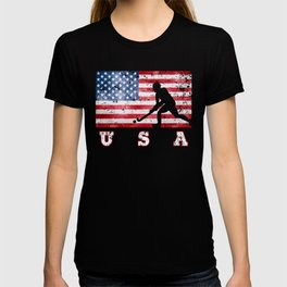 Team USA Field Hockey on Olympic Games T-shirt