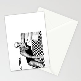 SEVEN DEAD SINS : GLUTTONY. Stationery Cards
