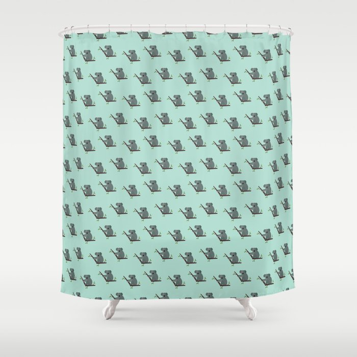 Koalas all around Shower Curtain by reneesillustrations | Society6