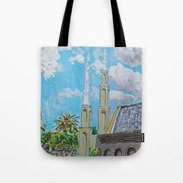 Johannesburg South Africa LDS Temple Tote Bag