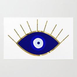 I See You Evil Eye Rug