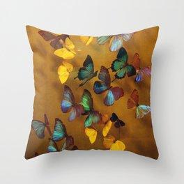 Butterflies Released Throw Pillow