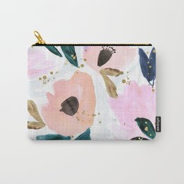 Dreamy Flora Carry-All Pouch