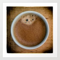 coffe Art Prints featuring Coffe Time by JAY'S PICTURES