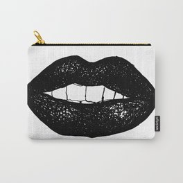 Black Lipstick Carry-All Pouch