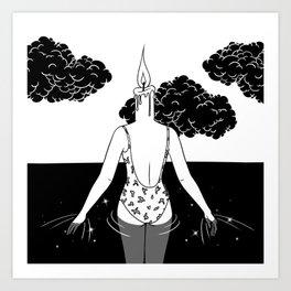 The Final Flame Art Print