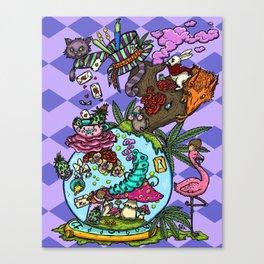 Wonderland Haze Canvas Print