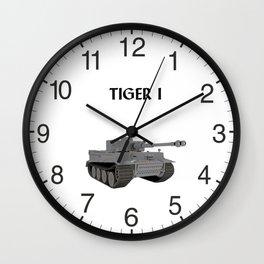Tiger I German WW2 Tank Wall Clock
