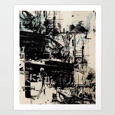 Garnitur 3 Art Print