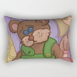 Corduroy: The Buttonless Bear Rectangular Pillow