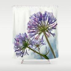 Backyard Beauty - At the Metro 001 Shower Curtain