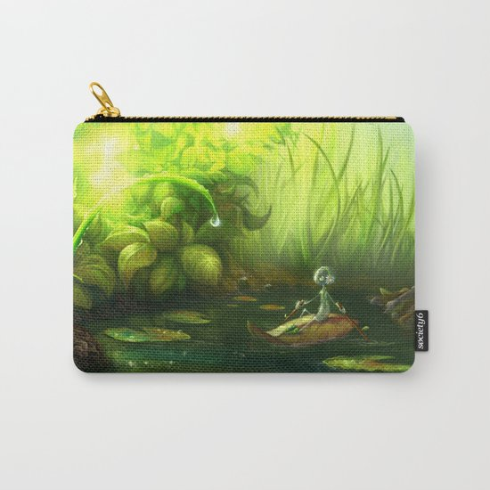Solitude Through the Leaves Carry-All Pouch