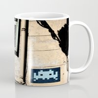 invader zim Mugs featuring Invader by theGalary