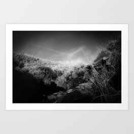 Infrared Valley Art Print