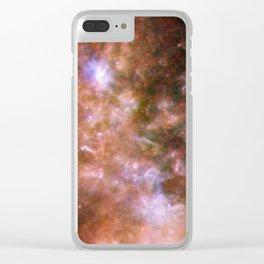 Small Magellanic Cloud, infared Clear iPhone Case