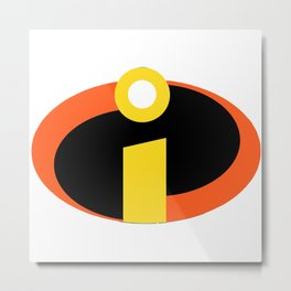 Incredibles Metal Print