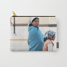Tarahumara Indigenous Mother and Child in Mexico Carry-All Pouch