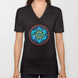Abstract mechanical object Unisex V-Neck