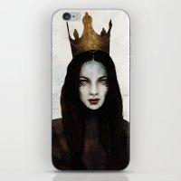 queen iPhone & iPod Skins featuring Queen by Feline Zegers