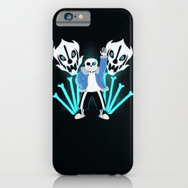 Sans the Skeleton iPhone Case