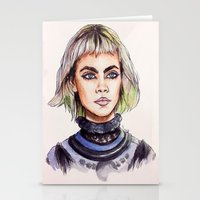 marc jacobs Stationery Cards featuring Cara/Marc Jacobs 2014 by fridayshooow
