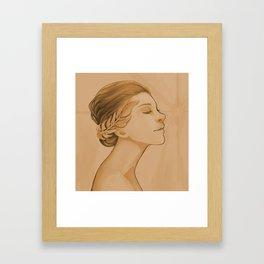 Goddess of Victory Framed Art Print