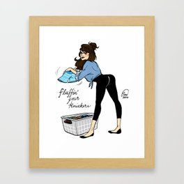 Daphne Knickers Framed Art Print